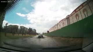 Дороги Омска или как чуть не утопить авто на ровном месте