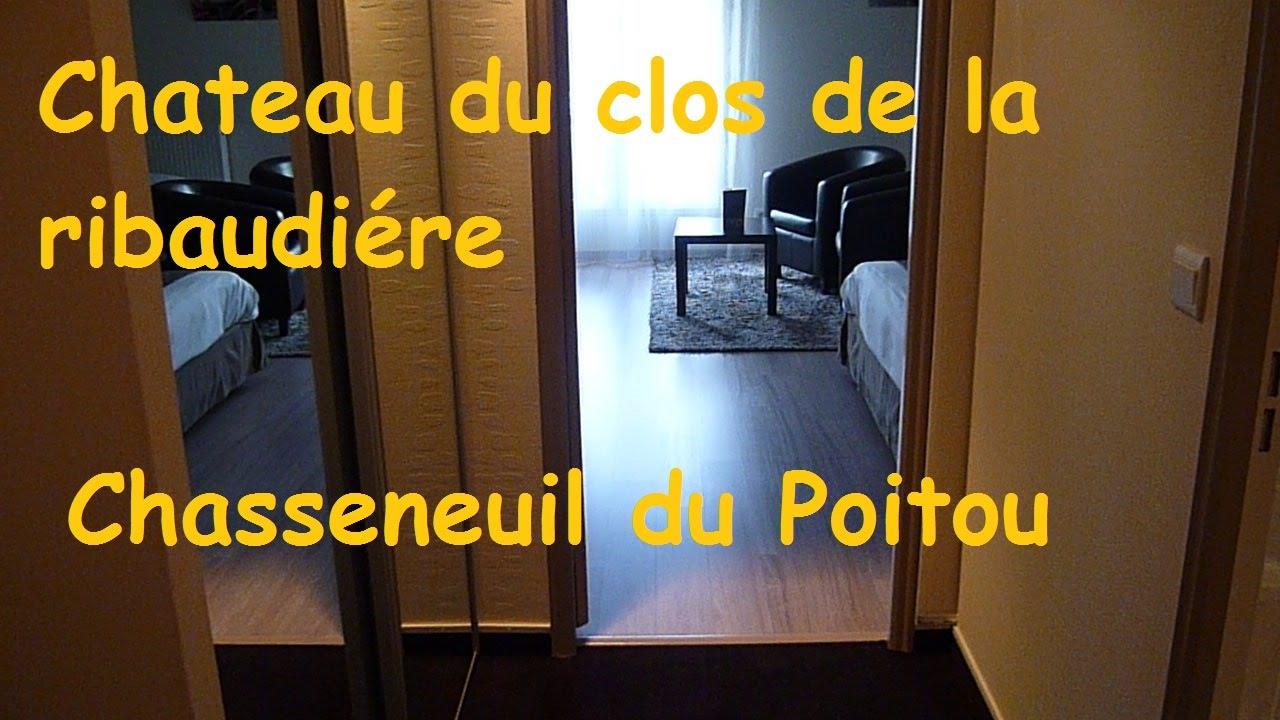 Video Chambre Du Chateau Du Clos De La Ribaudiere Hotel En France