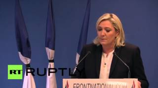 "France: Le Pen calls for nation to ""re-arm"" in the wake of Paris attacks"