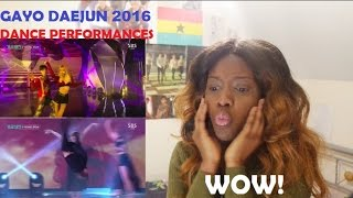 [2016 GAYO DAEJUN] Pin Up Girl Ballet Modern Dance & Street Dance Performance REACTION