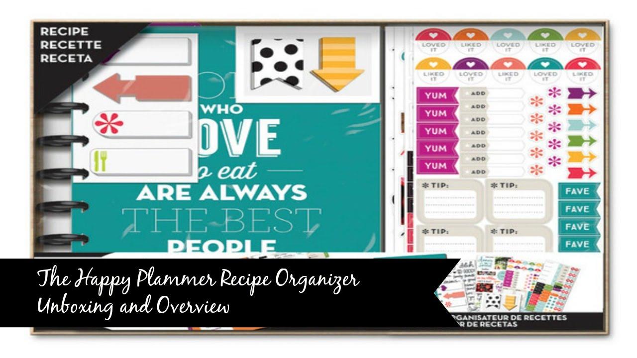 create 365 recipe planner