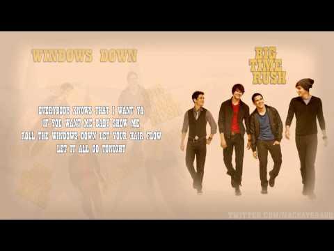Big Time Rush - Windows Down (WOO HOO) HD Karaoke