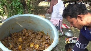 Mutton Kasha Preparation in Sabuj Deep Picnic Spot Hooghly W...
