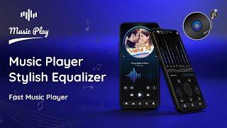 Music Player - Stylish Equalizer Fast Music Player screenshot 1