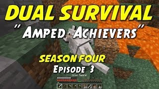 "Minecraft Dual Survival | S4E3 | ""Dogs of War!"" (Ironman Style!)"