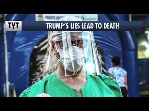 Nurse: Trump's Misinformation Is Killing People