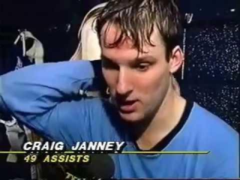 NHL: Craig Janney, St. Louis Blues (1992)