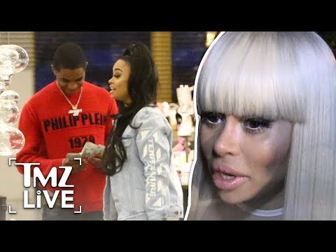Blac Chyna Dropped YBN Almighty Jay Due to His Side Piece | TMZ Live