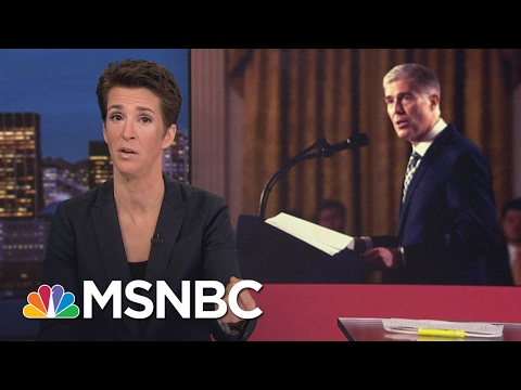Maddow: Neil Gorsuch Not A Typical Nihilist Donald Trump Nominee | Rachel Maddow | MSNBC