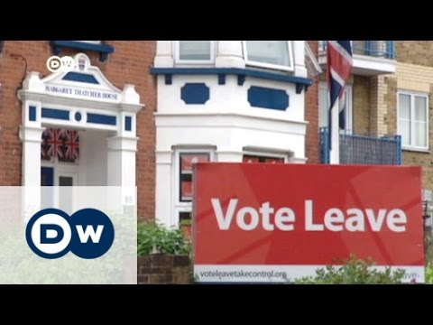 Brexit: Two communities mirror UK divide | DW News