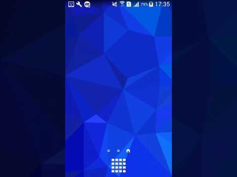 Как поменять обои на телефоне Samsung