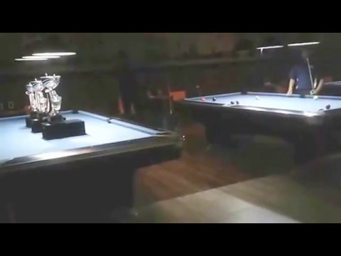 Jerico Banares Versus Irwan Limandi di Final Turnamen 10 Ball Billiard Bali Open 2017