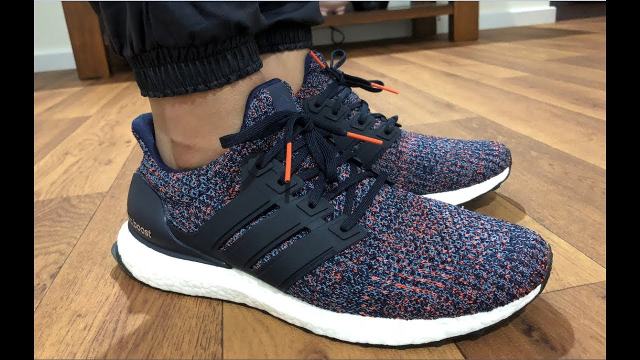 MY FIRST ADIDAS ULTRA BOOST 4.0 MULTICOLOUR INDEPTH? FOOTLOCKER 15% CODE HURRY! ON FEET