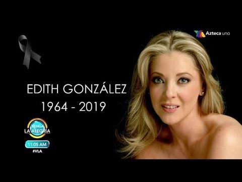 Muere Edith González a los 54 años   Fuiste y seguirás siendo una guerrera. QEPD