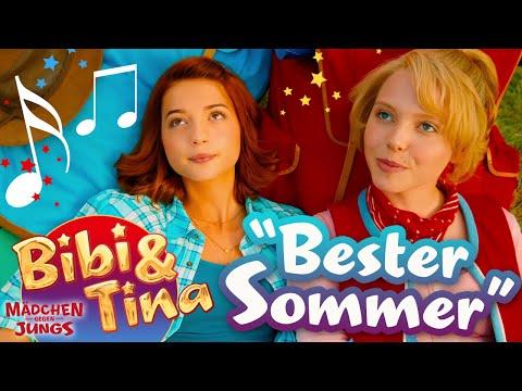 BESTER SOMMER - official Musikvideo IN VOLLER LÄNGE aus Bibi & Tina MÄDCHEN GEGEN JUNGS