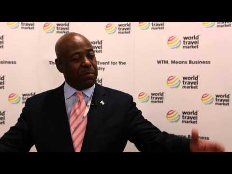 The Hon. Obediah H. Wilchcombe, Minister of Tourism, Bahamas | WTM 2014