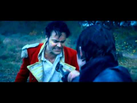 Pride and prejudice and zombies// Mr. Darcy and  Wickham fight scene