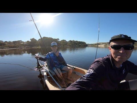 River Adventure In A Canoe, Moore River Western Australia