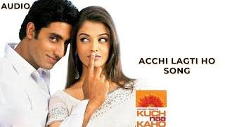 Achchi Lagti Ho | Kuch Naa Kaho | Kavita Krishnamurthy |  Udit Narayan