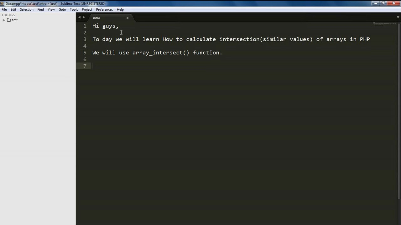 PHP Array -How to Find Intersection Of Two Arrays PHP