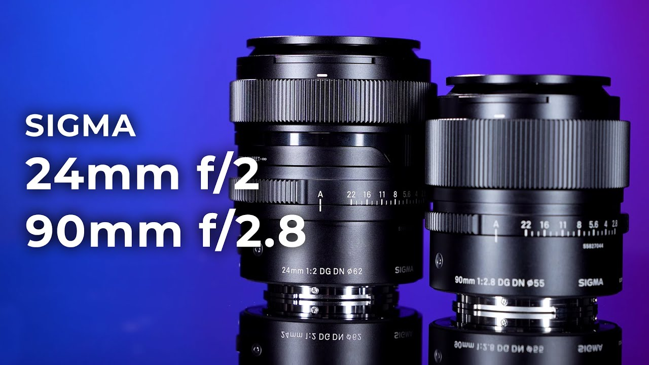 Sigma 24mm f/2 & 90mm f/2.8 DG DN Contemporary | Hands-on Review
