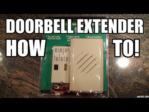 DIY: How To Add A Doorbell Extender.