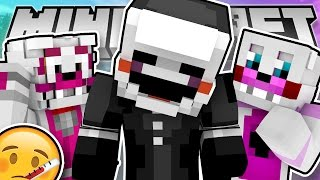 Minecraft Fnaf:  Sister Location - Puppet is Sick (Minecraft Roleplay)