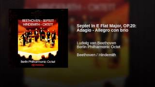 Septet In E Flat Major, OP.20: Adagio - Allegro con brio