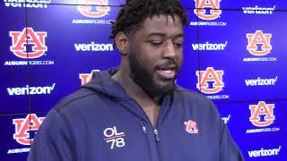 Auburn Football's Darius James