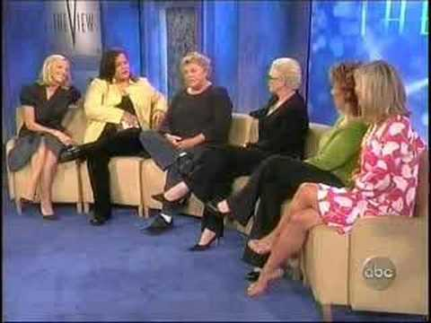 The View Cagney and Lacey Clip 5/14/07