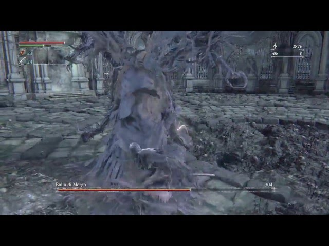 Bloodborne: Mergos Wet Nurse No Damage