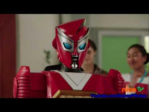 Power Rangers Ninja Steel Ep 17 - The Adventures of Redbot - Ending Scene