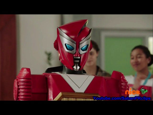 Power Rangers Ninja Steel Ep 17 - The Adventures of Redbot - Ending Scene