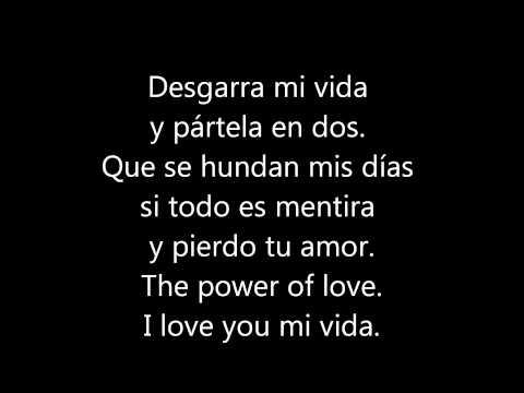 d'nash - i love you mi vida (letras)