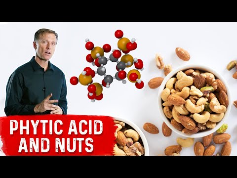 Nuts Have the Highest Phytic Acid