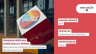 Paris-Saclay TV – Spécial SPRING – Mai 2021