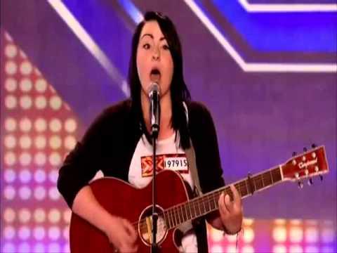 Lucy Spraggan from Sheffield on X Factor