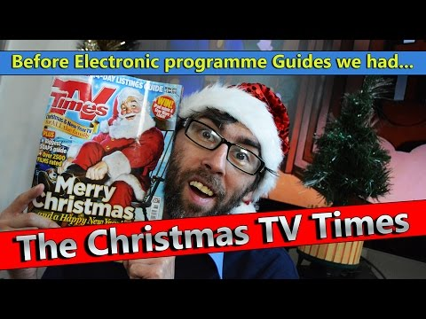 The Christmas TVTimes ★ Before Electronic Programme Guides we had the tv times magazine