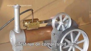 Simple Steam The Myfordboy Traction Engine Part 8 Flywheel