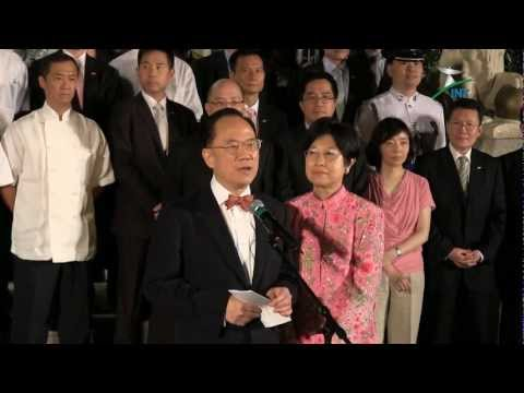 2012.06.30 - 曾蔭權爵士告別禮賓府 Sir Donald TSANG bids farewell to Government House