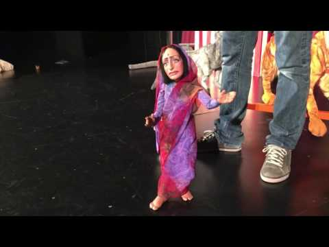Behind the Scenes with Frisch Marionettes' JUNGLE BOOK: THE STORY OF MOWGLI'S FIRE