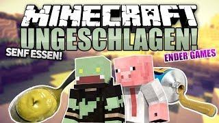 SENF ESSEN! - Minecraft UNGESCHLAGEN #10 - Ender Games   ungespielt