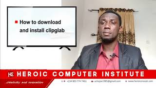 HOW TO UPLOAD AND INSTALL CLIPGRAB