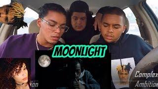 XXXTENTACION - MOONLIGHT (OFFICIAL MUSIC VIDEO) REACTION REVIEW R.I.P.