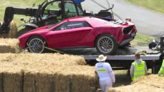 Goodwood Festival of Speed crash 2013
