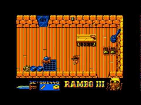 Resultado de imagen de rambo 3 amstrad cpc