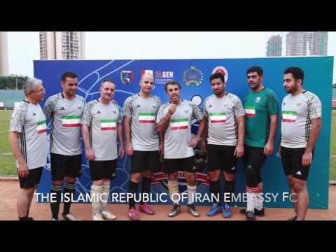 FOOTBALL FOR PEACE CHINA INDONESIA IRAN
