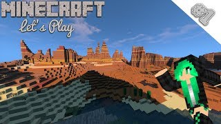 Let's Play Minecraft | HUGE MESA BIOME | Ep. 1