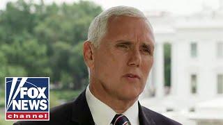 Maria Bartiromo interviews Vice President Mike Pence