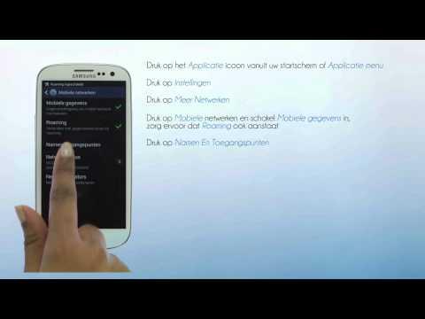 Lycamobile Nederland - Mobiel data instellingen voor jouw Samsung